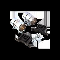 Montagesatz Schalldämpfer NISSAN CABSTAR E in Premium Qualität
