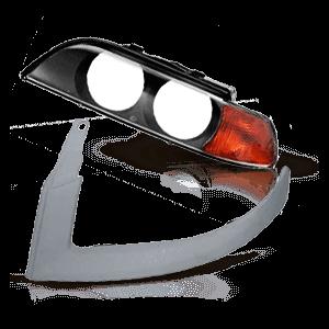 Hauptscheinwerfer Einzelteile RENAULT CLIO II (BB0/1/2_, CB0/1/2_) 2.0 16V Sport ab Baujahr 2004 online bestellen