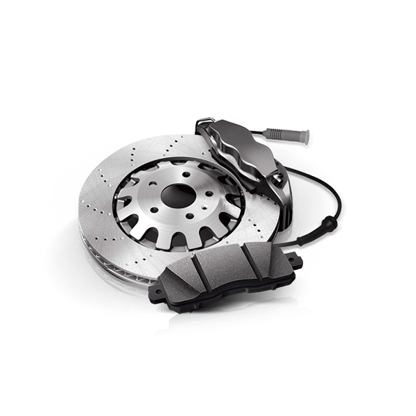Brakes for PEUGEOT 206 in 1A quality