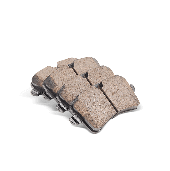 High performance brake pad for NISSAN