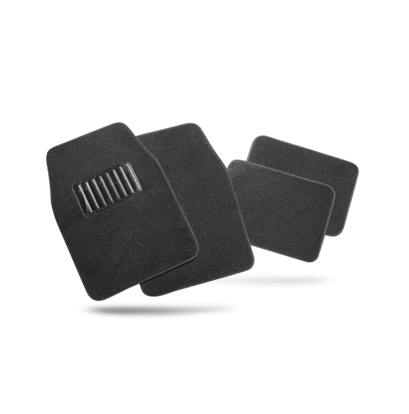 Tailored car mats for VW