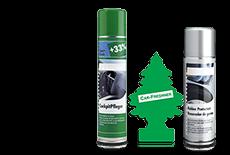 Prodotti pulizia e detergenti per interni auto