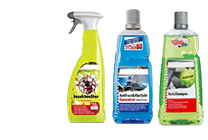 Wash cleaners & exterior care
