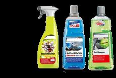 Detergenti e prodotti per la cura degli esterni auto