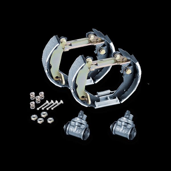 Image of METZGER Brake Set, drum brakes RENAULT MG 706V