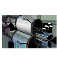 Endschalldämpfer 10.087 Clio II Schrägheck (BB, CB) 1.5 dCi 65 PS Premium Autoteile-Angebot