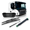 Fahrerhaus / Karosserie LKW Ersatzteile für MAN G 90