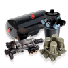 Zubehör und Ersatzteile aus der ASKAM (FARGO/DESOTO) Druckluftanlage Baugruppe