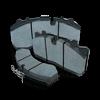 Plaquette de frein à disque pour MERCEDES-BENZ