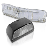 Parts, licence plate light