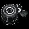 Alternator - sprzęgło jednokierunkowe