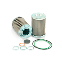 Filtro sistema idraulico d. trasmissione di qualità originale per camion TERBERG-BENSCHOP