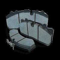 Brake Pad of original quality for IVECO trucks