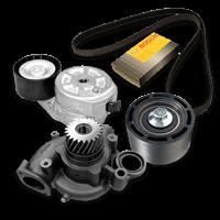 Multi-V-rem / -sæt af original kvalitet til DAF lastbiler