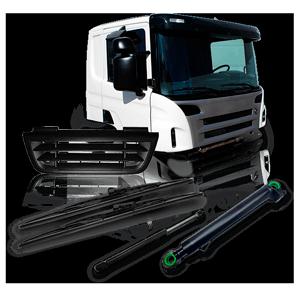 Kabína vodiča / Karoséria: katalóg s náhradnými dielmi a príslušenstvom pre kamióny