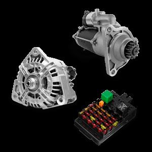 Système électrique: catalogue de pièces détachées et accessoires