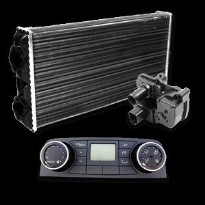Uppvärmning / Ventilation / Klimatanläggning: Katalog för reservdelar och tillbehör till lastbilar