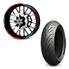 Catalogue of Wheels / Tyres for KAWASAKI motorcycles
