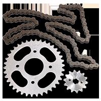 KTM MOTORCYCLES Transmissão das rodas