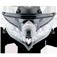 KAWASAKI Motociklas priekinis žibintas/įterp.