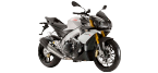 Motociklų komponentai: oro filtras, skirti APRILIA TUONO