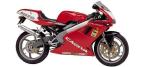 Motociklų komponentai: stabdžių įdėklas/ trinkelė, skirti CAGIVA 125