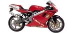 Motociklų komponentai: stabdžių įdėklas/ trinkelė, skirti CAGIVA MITO