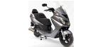Motociklų komponentai: stabdžių įdėklas/ trinkelė, skirti DAELIM FREEWING