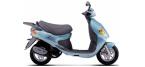 Motociklų komponentai: stabdžių įdėklas/ trinkelė, skirti DAELIM MESSAGE