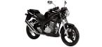 Motociklų komponentai: stabdžių įdėklas/ trinkelė, skirti DAELIM ROADWIN
