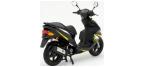 Motociklų komponentai: stabdžių įdėklas/ trinkelė, skirti DAELIM S-FIVE