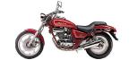 Motociklų komponentai: stabdžių įdėklas/ trinkelė, skirti DAELIM VS
