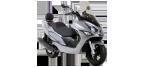 Motociklų komponentai: stabdžių įdėklas/ trinkelė, skirti DAELIM S