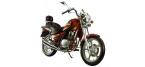 Motociklų komponentai: uždegimo žvakė, skirti HYOSUNG CRUISE