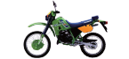 Motorbike components: Footrests for KAWASAKI KMX