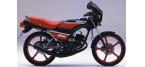 Mootorrataste komponendid: Ketaspiduri-/trummelpiduriklots mudelile KAWASAKI AR