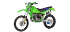 Motorbike components: Footrests for KAWASAKI KDX