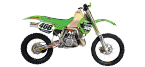 Motorbike components: Footrests for KAWASAKI KX