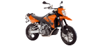 Motorbike components: Battery for KTM SUPERMOTO