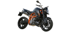 Motorbike components: Battery for KTM DUKE