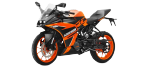 Motorbike components: Battery for KTM RC