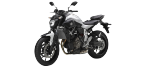 Части за мотоциклети YAMAHA MOTORCYCLES MT