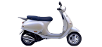 Motociklų komponentai: radiatoriaus ventiliatorius, skirti VESPA ET