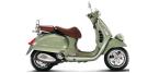 Componentes de moto: Luz traseira para VESPA GTV