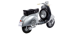 Motorcycle parts for VESPA GS