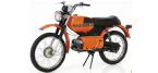 Motorfietsonderdelen voor KREIDLER MUSTANG
