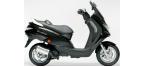 Motociklų komponentai: stabdžių įdėklas/ trinkelė, skirti PEUGEOT ELYSTAR
