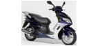 Motociklų komponentai: stabdžių įdėklas/ trinkelė, skirti PEUGEOT SUM-UP