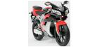Composants de feu clignotant moto pour PEUGEOT XR7