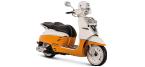 Motociklų komponentai: stabdžių įdėklas/ trinkelė, skirti PEUGEOT DJANGO